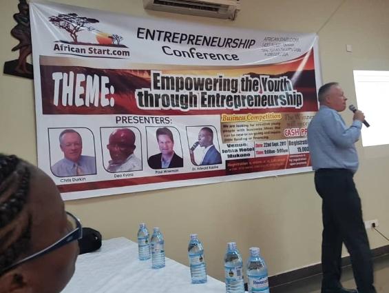 Empowering the youth through entrepreneurship